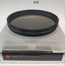 Leica Leitz Polfilter Filter Lens Polarizing Polarizer Circular 77mm 77Ø 610/5