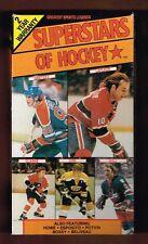 1989 Vhs Superstars of Hockey Wayne Gretzky Orr Hull LaFleur