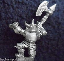 1985 Chaos Warrior 0203 18 C35 The Iron Duke Citadel Warhammer Army Evil Fighter