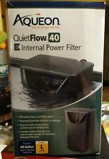 AQUEON Quietflow 40E Internal Power Filter for up to 40 Gallon Tanks