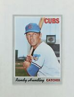 1970 Topps Randy Hundley #265 Baseball Card Chicago Cubs