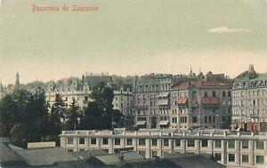 LAUSANNE – Panorama de Lausanne – Switzerland – udb - 1905