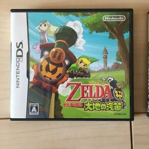 used The Legend Of Zelda Daichi no Kiteki Action adventure game Game software