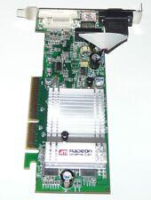 ATI Radeon 9550SE AGP 128MB DVI VGA S-tarjeta gráfica Vid