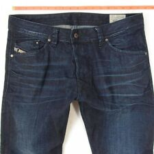 Mens Diesel DARRON 0835G Slim Tapered Blue Jeans W34 L34
