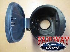 09 thru 14 F-150 Fuel Gas Filler Door Housing Pocket w/ Hinge FLARESIDE STEPSIDE