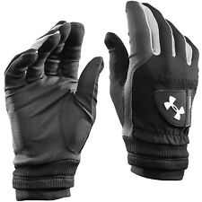Under Armour Men's UA ColdGear Thermal Winter Golf Gloves - Black - Pair
