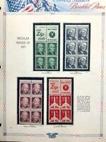 US #1278b/1280c/1395b/C78a MNH Booklet Panes CV$4.25 1971