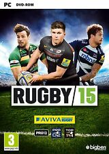 Rugby 15 (PC-DVD) NUEVO PRECINTADO VERSIÓN EN INGLÉS