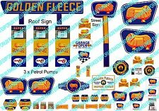 HO Scale Golden Fleece Servo Sign Kit - Model Railway Signs - HOGF3