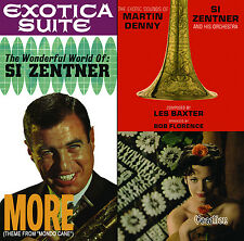 Si Zentner & Martin Denny - More & Exotica Suite   CDLK4494