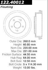 Centric Parts 122.40012 Rear Brake Drum