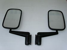 LAND ROVER SERIES 3 DOOR MIRROR COMPLETE ASSEMBLY - PAIR - NEW MIRRORS