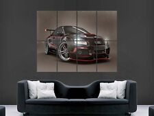 AUDI A5 GTR SUPERCAR  HUGE LARGE WALL ART POSTER PICTURE