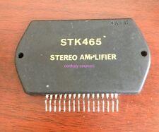 1PCS STK465 465 STEREO AMPLIFIER PPWER STEREO SANYO IC