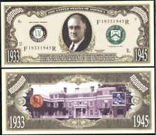 Lot of 100 - Franklin Roosevelt 32nd President Bills
