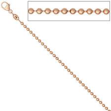 Echte Edelmetall-Halsketten & -Anhänger ohne Steine aus Rotgold mit Gemischte Themen