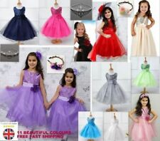 Sequin Knee Length Party Dresses (2-16 Years) for Girls