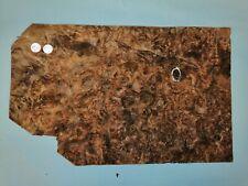 CONSECUTIVE SHEETS OF AMERICAN BURR WALNUT VENEER 45 X 28 cm AM#283 DASHBOARD