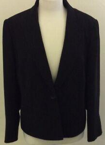 Jasper Conran Petite Black Suit Jacket Size 18