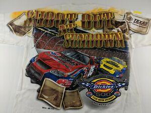 Dickies Texas Motor Speedway 2005 XL T Shirt Full Graphic 500 Cowtown Showdown