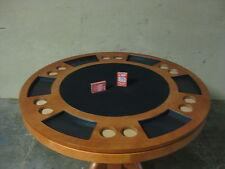 Pokertisch Spieltisch Esstisch Billard Blackjack in einem Tisch rund 120cm Holz