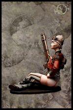 El viejo dragon miniatures steampunk colonial sniper lady je