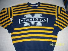 VTG 1984 Cliff Engle Michigan Wolverines Large sweater great condition *RARE*