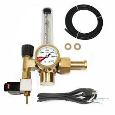 CO2 Flowmeter Regulator with Solenoid Valve C02 Flow Meter Hydroponics Tank