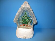 Hallmark Christmas 2010 Home Sweet Home Lighted Snow Globe Changes Colors