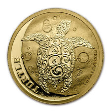 2017 Niue 1 oz Gold $250 Hawksbill Turtle BU - SKU #117789