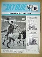 Blue Sky RIVISTA, Vol.3, No.18, 31 Gen 1970-COVENTRY CITY V Arsenal
