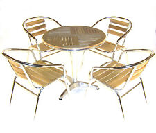 Ash Bistro Furniture - Ash Cafe table and chairs - Cheap Wooden Garden Furniture