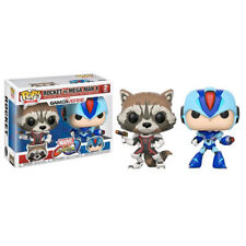 Marvel vs Capcom: Infinite - Rocket vs Mega Man X Pop! Vinyl Figure - Set of 2