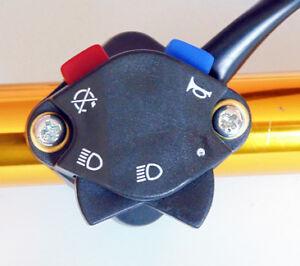 SWI006 Ardi-Star KTM, Husaberg, Husqvarna LH Handlebar Switch (7 wires)