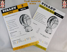 TILLEY LAMP COMPLETE PRICE LIST 1954 LEAFLET SPARE PARTS