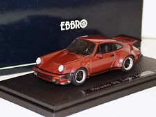 PORSCHE 911 TURBO 1975 METALLIC BROWN EBBRO 43754 1:43