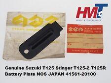 Suzuki T125 Stinger T125-2 T125R Battery Plate 41561-20100 NOS JAPAN