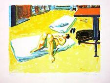 Norbert Tadeusz, Ohne Titel, Farblithographie, signiert, nummeriert, 1990