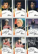 The Prisoner Complete Set of all 24 Pack Inserted & Incentive Auto Cards