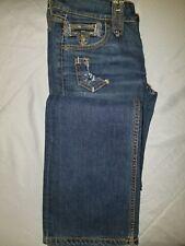 Taverniti Womens Sz 25  So Janis  Blue Flare Bootcut Jeans