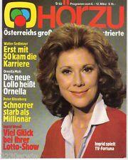 HÖR ZU  # 9 / 1982 / WALTER SEDLMAYR, ORNELLA MUTI, KURT SOWINETZ, INGRID WENDL