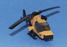 Matchbox Die Cast Mission Helicopter in Desert Tan