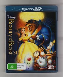 Beauty And The Beast 3D Blu-ray - Brand New & Sealed