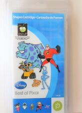 Cricut Cartridge BEST OF PIXAR NEW Incredibles Nemo Monsters Inc Wall-E