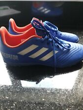 ⚽ Adidas Predator 19.4 TURF Football Boots Size UK 5  Boys Girls unisex free p&p