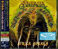 SANTANA-AFRICA SPEAKS-JAPAN SHM-CD BONUS TRACK F83