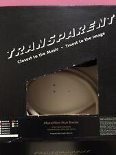 Transparent Audio MusicWave Plus Biwire Speaker Cable 3.0m Pair Spade/Spade