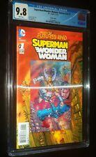 SUPERMAN/WONDER WOMAN: FUTURES END #1 2-D Variant 2014 DC Comics CGC 9.8 NM-MT