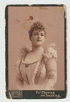 Mayo's Cut Plug Tobacco Trading Card Actresses Lillian Russell